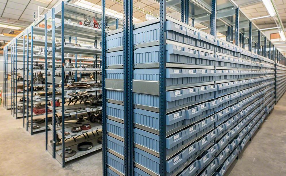 El almacén de piezas de recambio para vehículos industriales de RS Turia