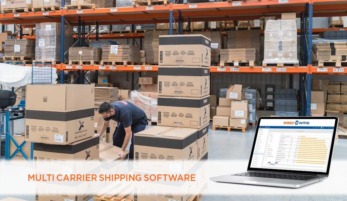 Un módulo como Multi Carrier Shipping Software agrupa los pedidos por rutas de transporte, agilizando las entregas dentro de la ciudad