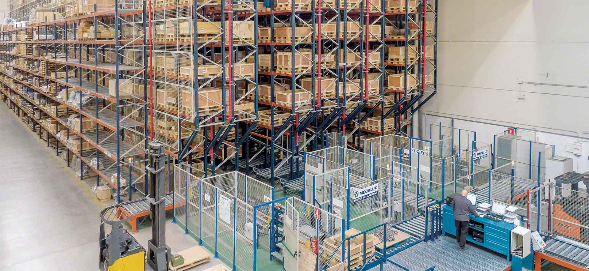 La automatización del movimiento de cargas elimina despilfarros ligados al transporte dentro de una estrategia de 'Lean logistics'