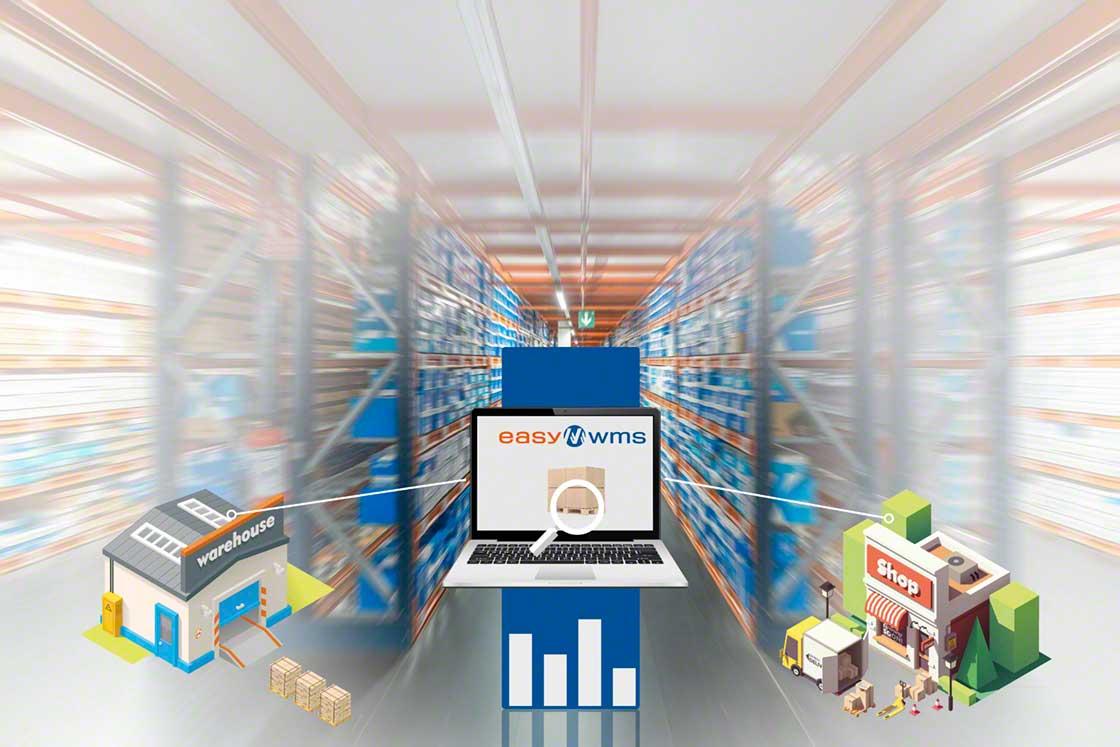 El módulo Marketplaces & Ecommerce Platforms Integration de Mecalux es la herramienta ideal para sincronizar el stock en almacén con el que registra la tienda online