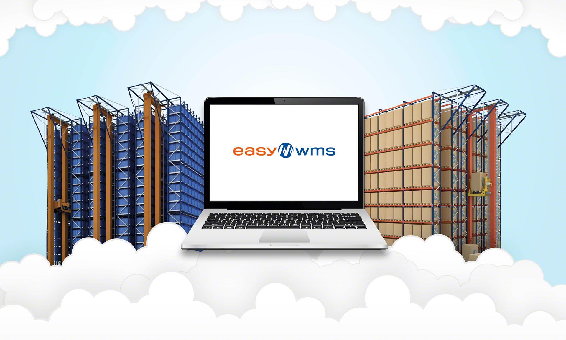 La gestión de inventario en la nube se realiza a través de un software en modalidad SaaS
