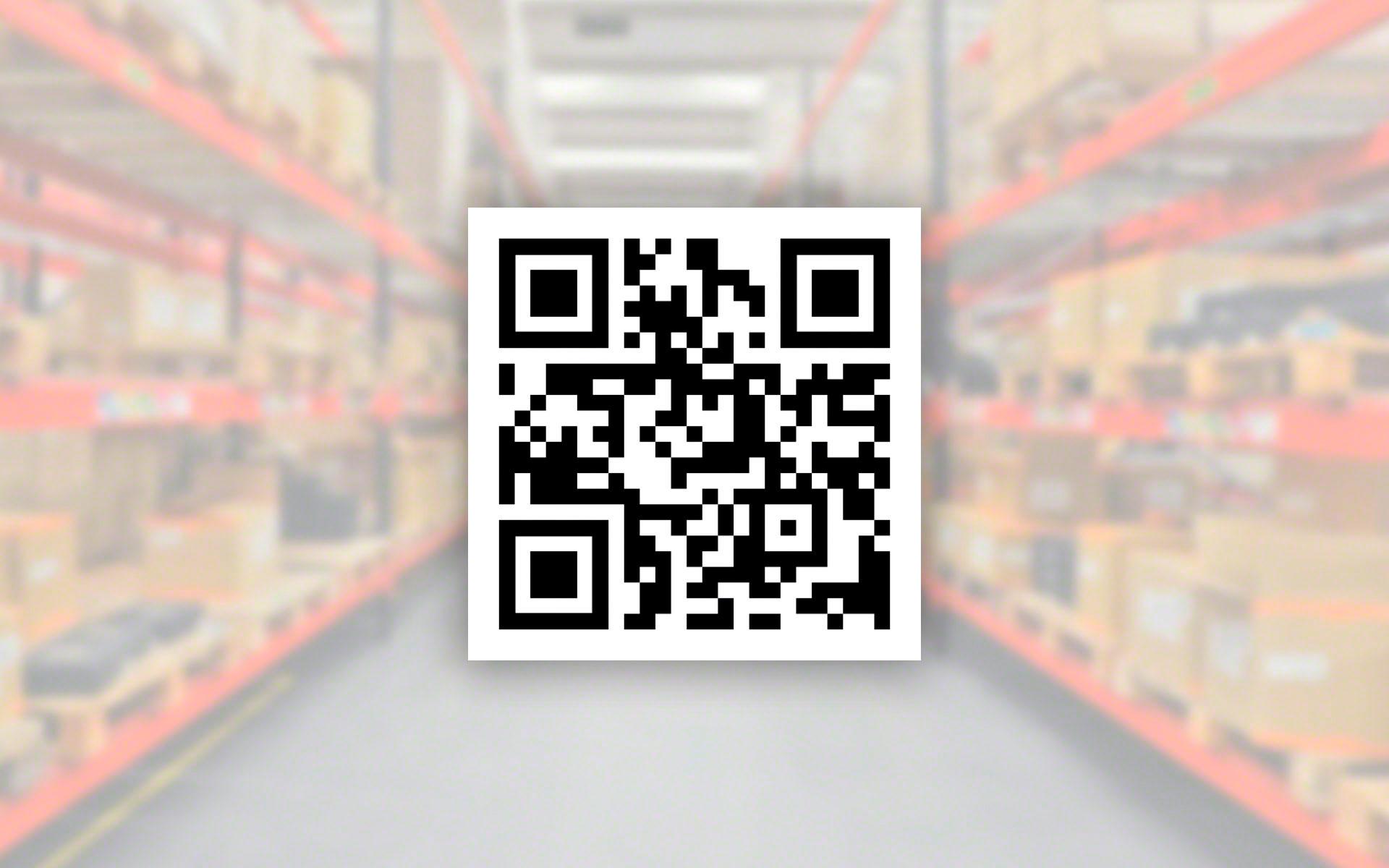 Los códigos QR en logística proporcionan información más detallada sobre los productos que los códigos de barras