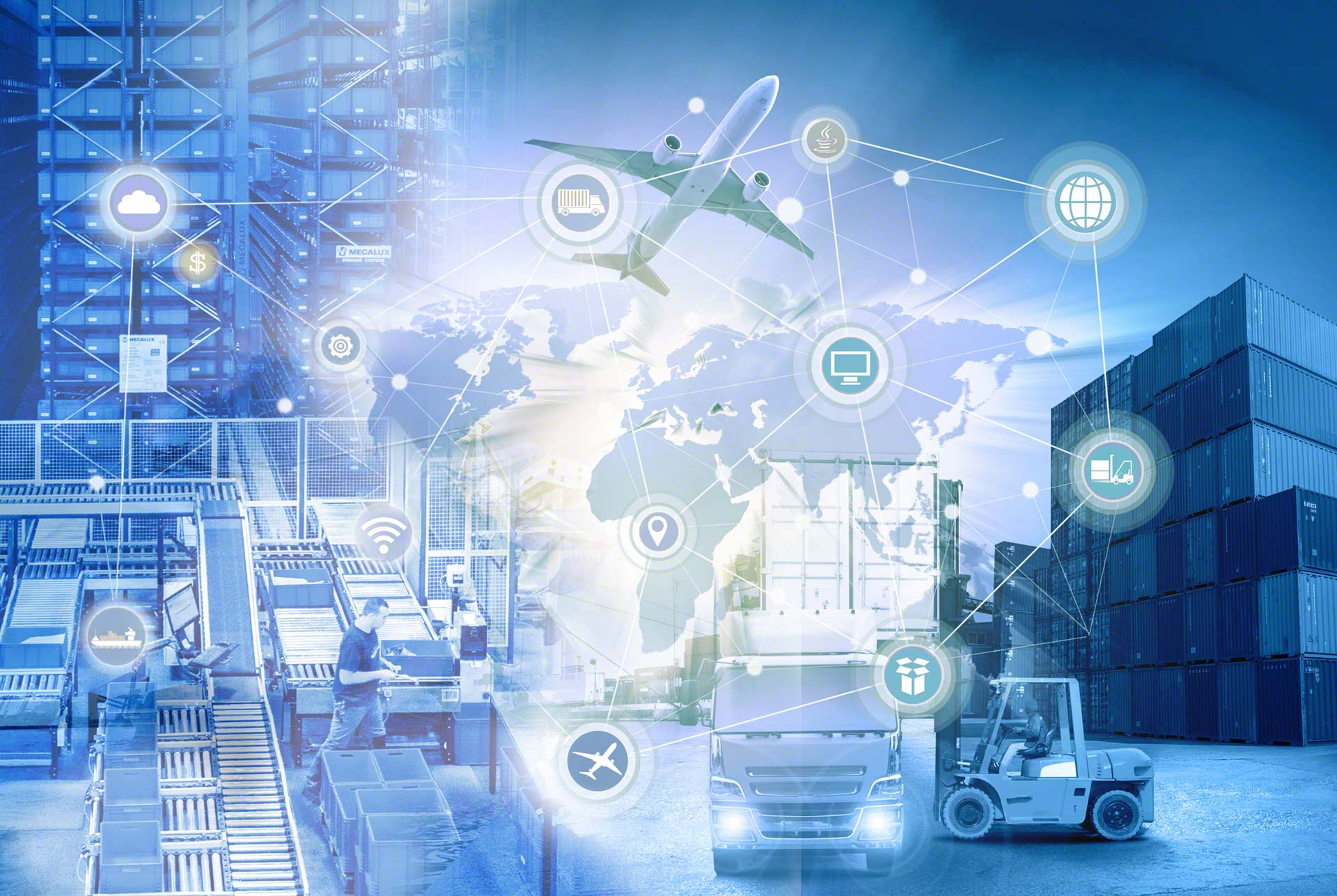 La Supply Chain 4.0 se constituye a partir de la implantación de nuevas tecnologías en uno o más eslabones de la cadena