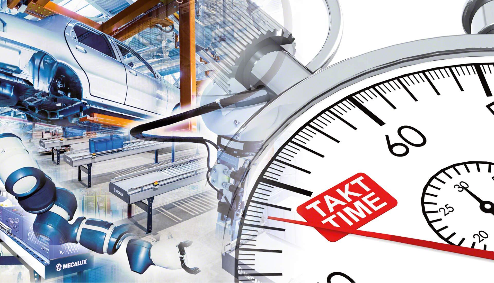 El Takt Time calcula el ritmo que debe mantener una cadena de producción para satisfacer la demanda