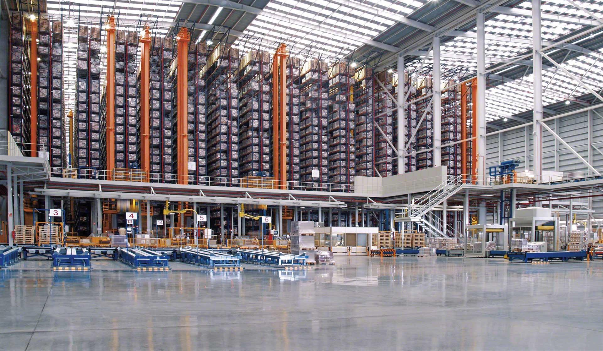 Los tipos de logística que intervienen en la cadena de suministro