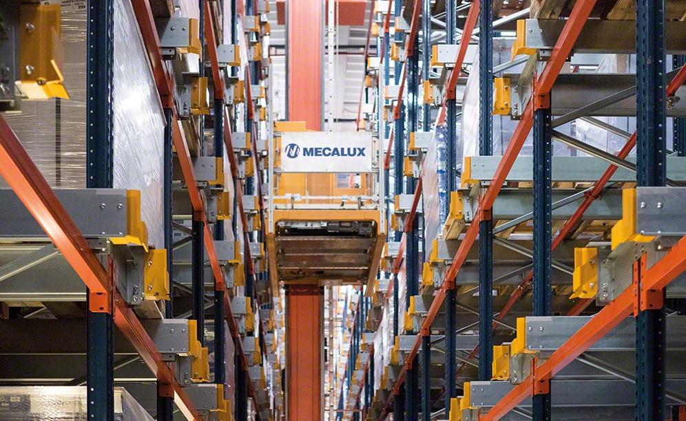 Alta productividad en el almacén robotizado de Clairefontaine en Francia