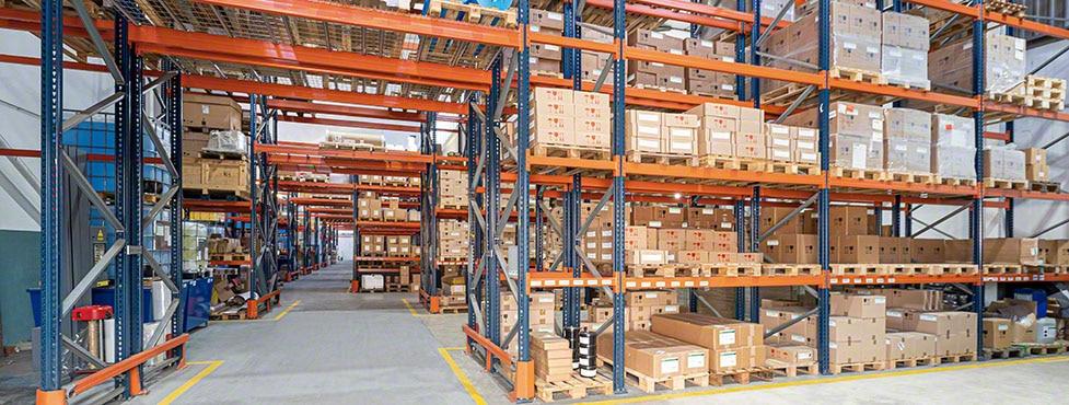Gestión inteligente del almacén de Heidelberg de componentes y equipos de impresión