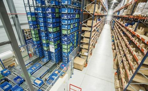 El fabricante de herramientas Diager logra un alto rendimiento con un almacén automático miniload para 7.200 cajas