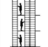 Estanterías económicas picking Simplos, Aplicaciones: tres niveles