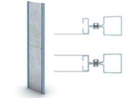 Estanterías cargas ligeras para picking M3, Componentes: Laterales chapa lateral