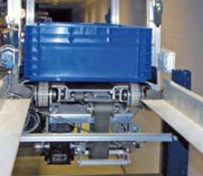 Sistema de extracción de palas combinadas con correas