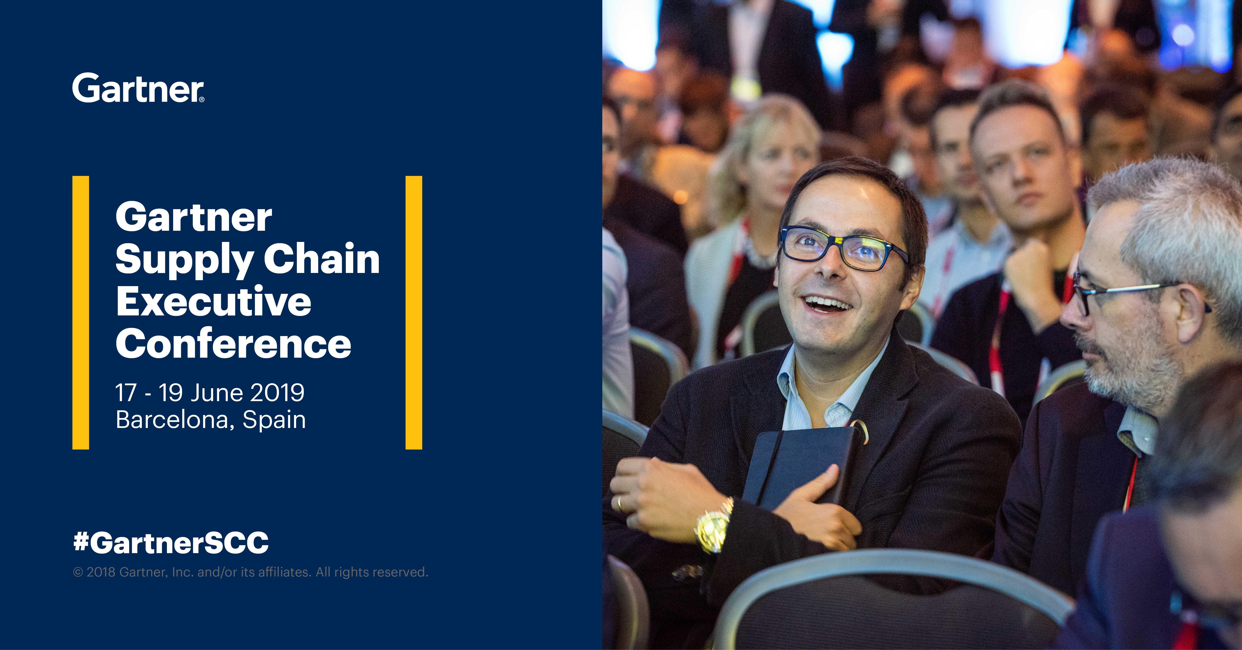 Mecalux en el Gartner Supply Chain Executive Conference 2019