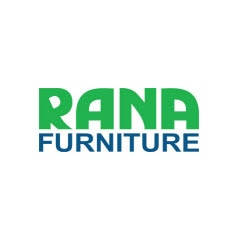 Almacén con pasillos estrechos de gran rendimiento para Rana Furniture