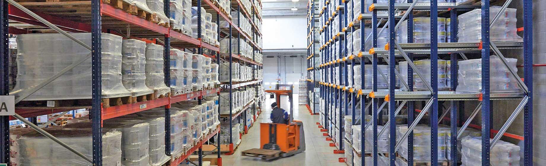 Estanterías metálicas y sistemas de almacenaje