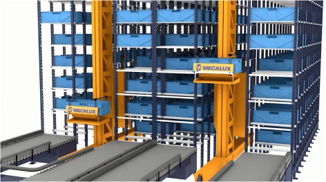 Miniload – Almacén automático para cargas ligeras