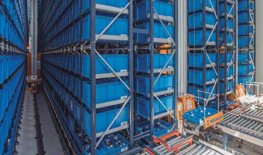 Almacenes automáticos para cajas