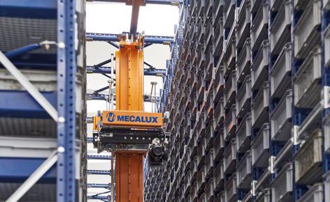 Paolo Astori duplica la capacidad de su almacén automático de cajas