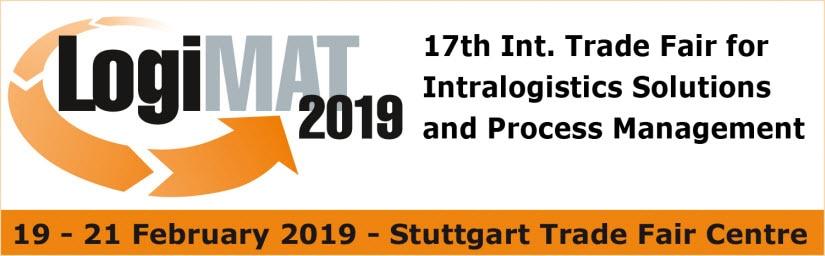 LogiMAT 2019 Feria Intralogística en Stuttgart (Alemania)