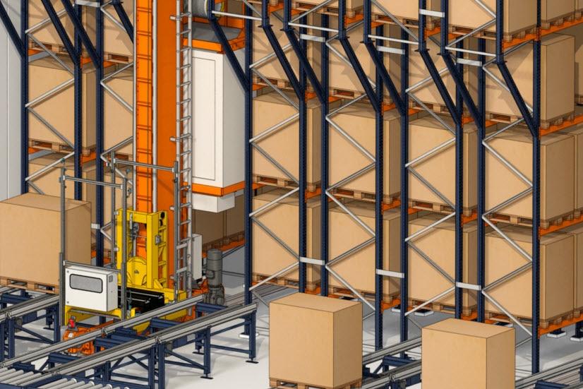 Industrias Yuk construirá un almacén automático de palets y cajas