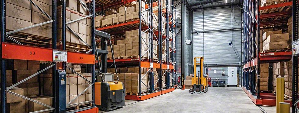 El fabricante de juguetes Créations Dani moderniza su almacén de Francia