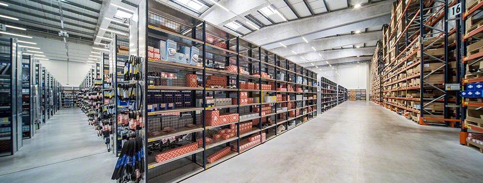 El almacén de bilstein group de piezas de recambio para automóviles en Portugal