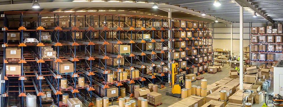 Almacenaje de equipos de impresión digital de GM Technology en España