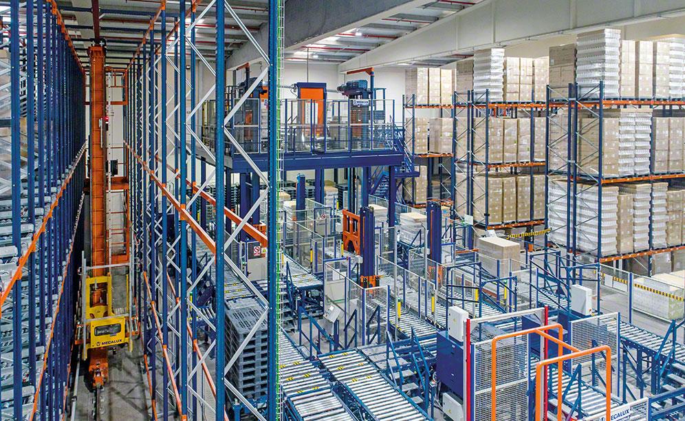 Laboratorios Maverick automatiza su almacén de productos de Deliplus