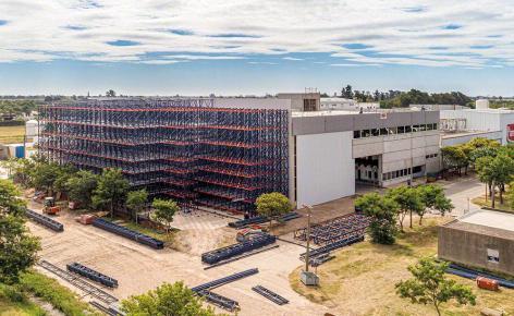 La Piamontesa moderniza su nuevo almacén automático en Argentina