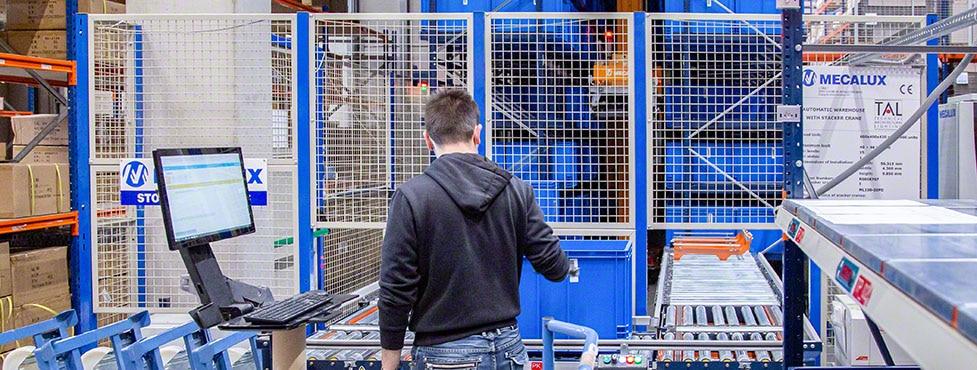 TAL: un almacén automático que brilla con luz propia
