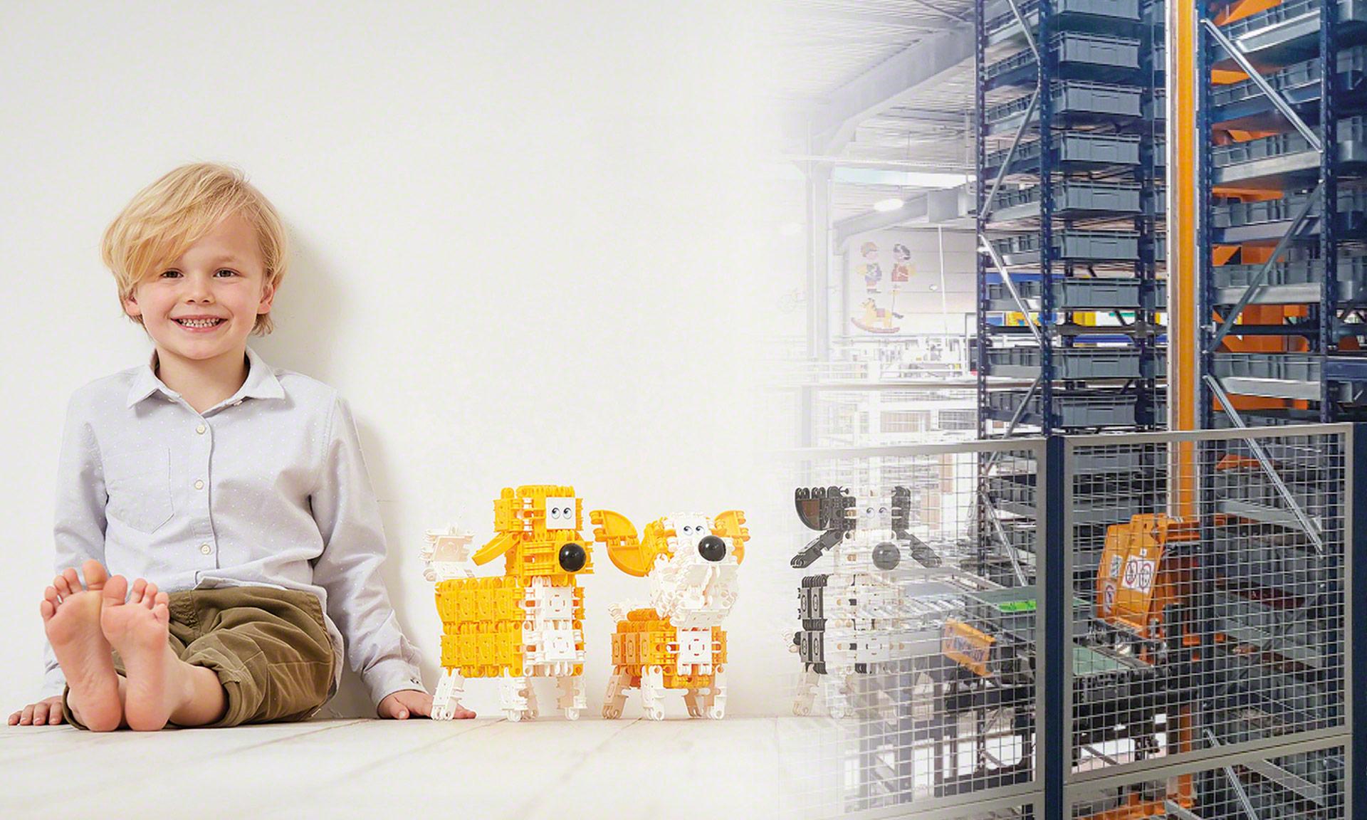 Clics Toys: gestión automática de 150 millones de piezas producidas al año