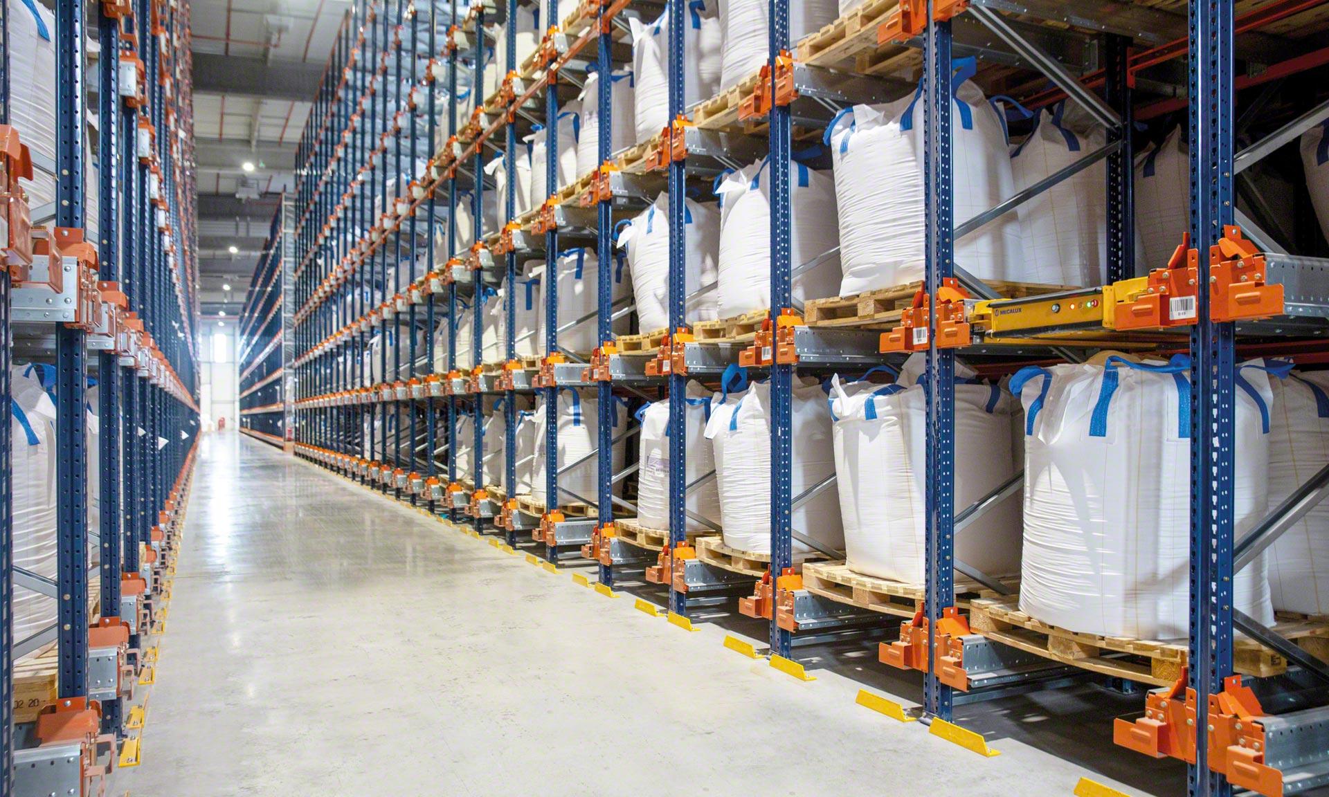 Groupe Bert: la misma capacidad de almacenaje en un 73% menos de superficie