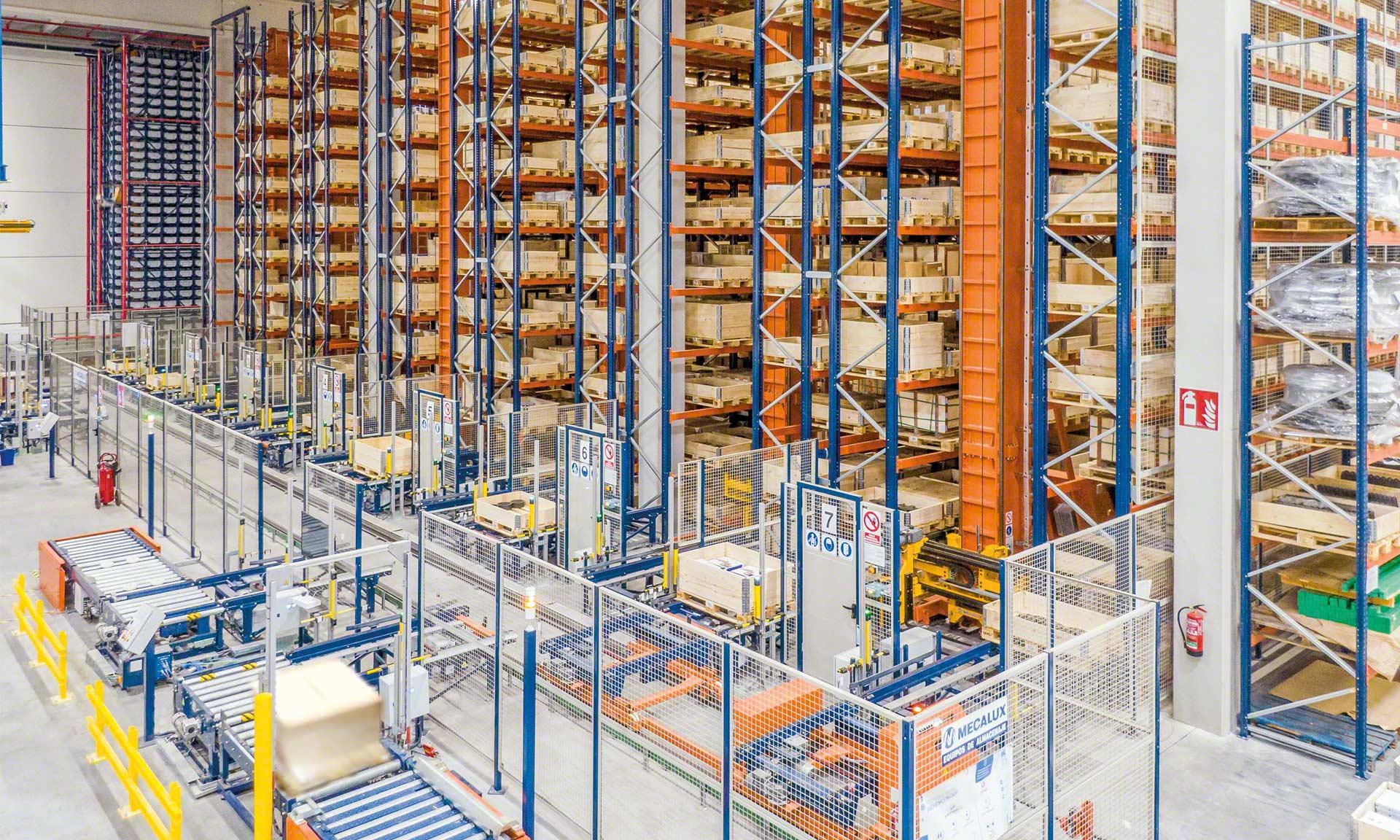 Industrias Yuk: centralización logística, cinco almacenes en uno con miles de referencias