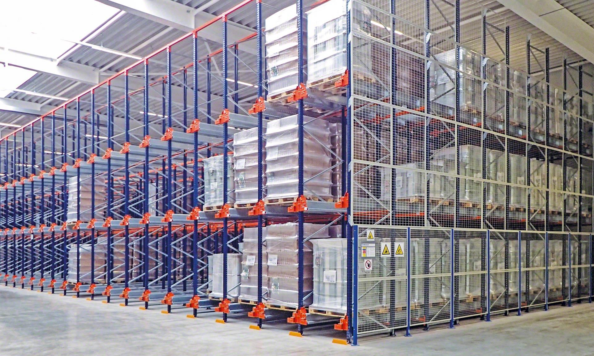 Weddeling aprovecha al máximo el espacio de su almacén en Alemania