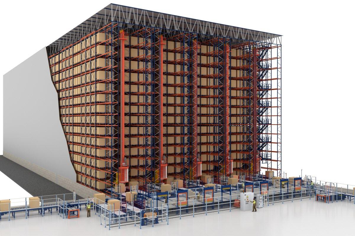 El nuevo almacén automático para palets de R&S Solutions en Estados Unidos