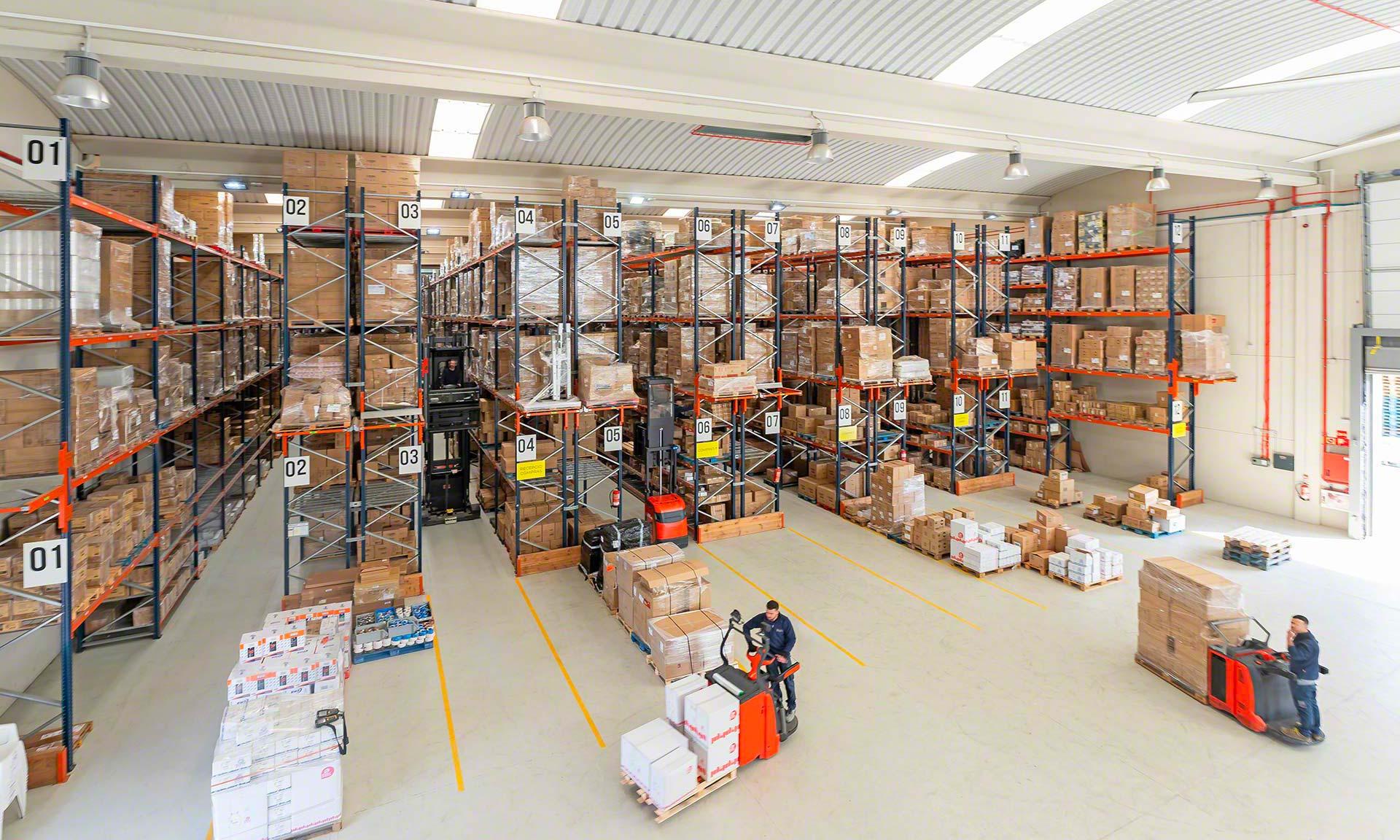 Elektro3: más de 14.000 referencias en un almacén en plena expansión
