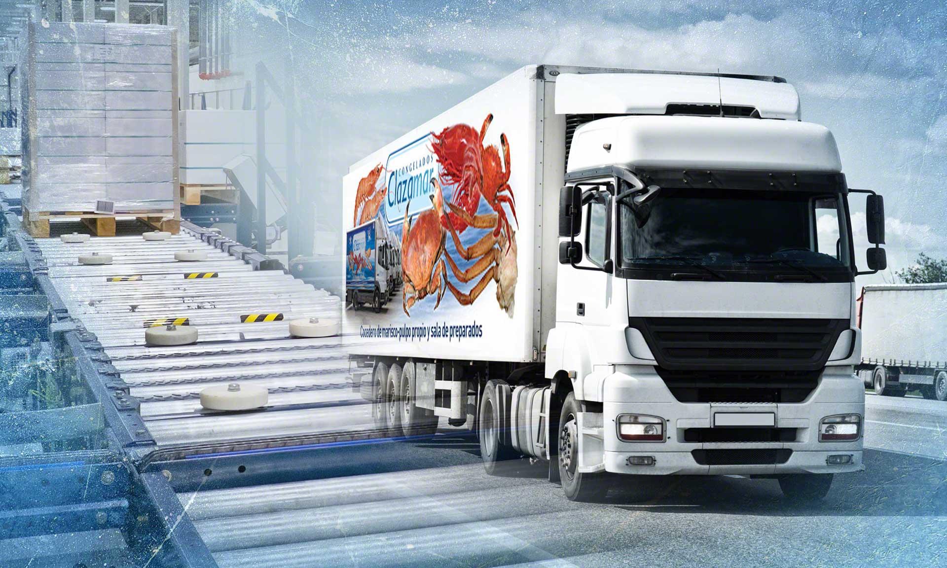 El nuevo almacén de Grupo Clazamar en Ciudad Real con productos congelados
