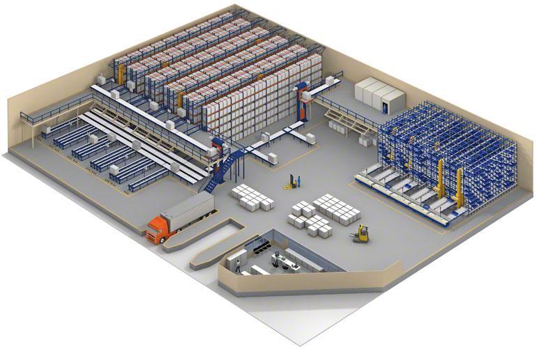 El SGA permite gestionar almacenes multipropietario