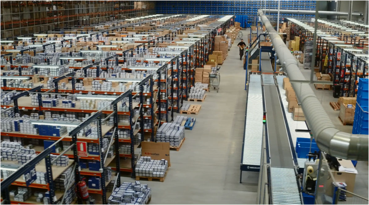 Caso práctico: nuevo centro logístico de Cofan