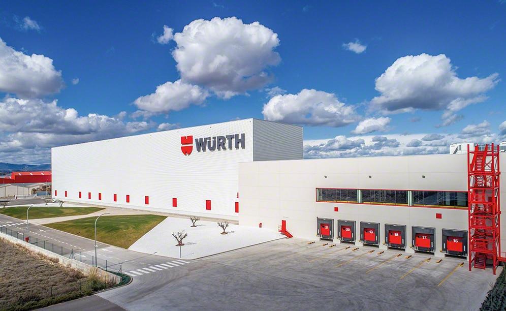 Un almacén automatizado para Würth en La Rioja